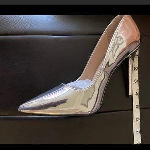 Qupid Shiny Leather Heels